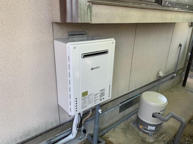 給湯器取り替え工事