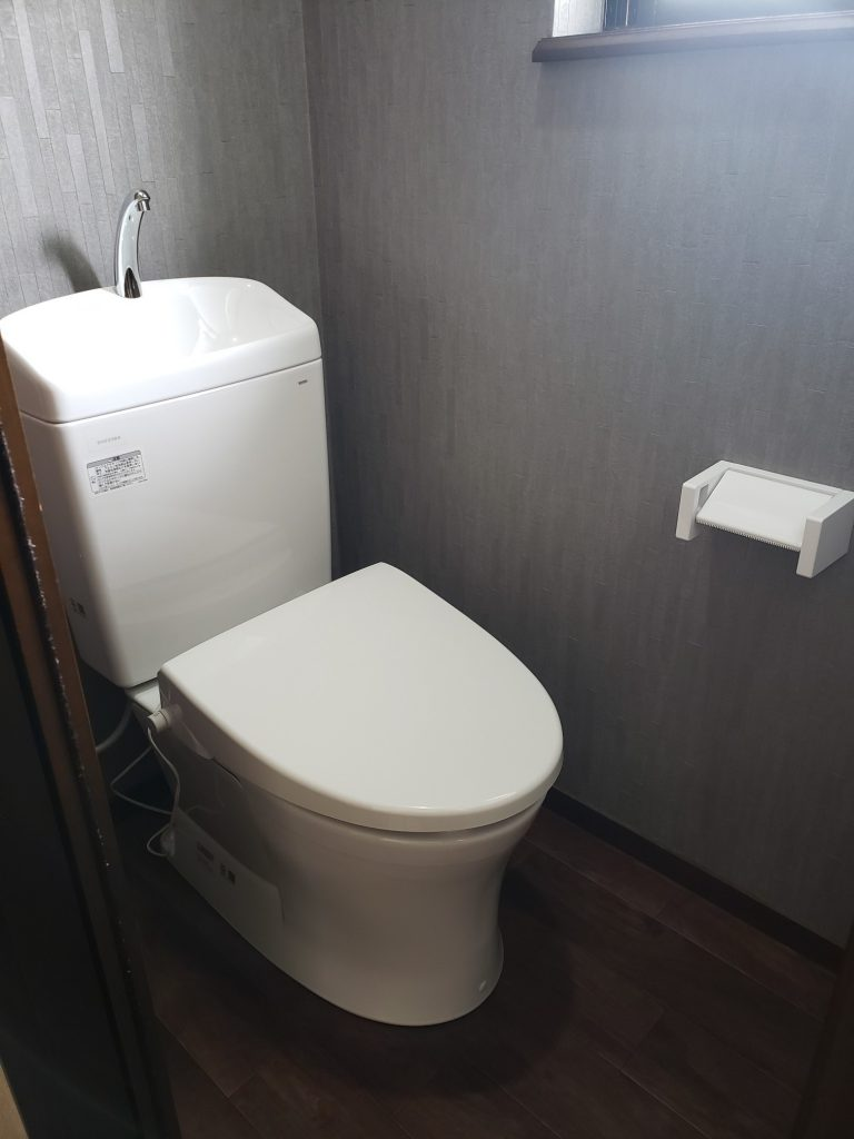 2Fトイレ改修工事