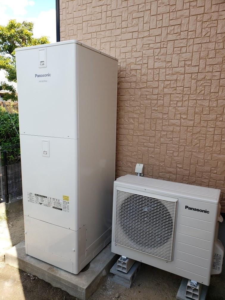 電気温水器→エコキュート交換工事